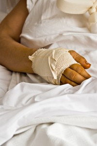 Hurting hand  pierce county personal injury lawyer