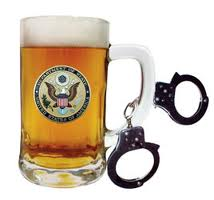Tacoma WA DUI Attorney  beer and handcuffs